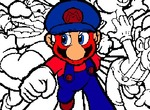 Coloring-game-with-mario-characters