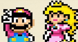 Embroidery-game-with-mario-and-princess-peach