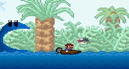 Mario-on-a-boat-2