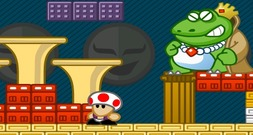 Mario-peach-and-toad-battle-the-boss