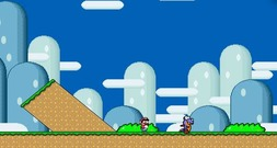 Platform-game-with-mario-and-bowser-2