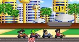 Racing-game-met-dragonball-kart